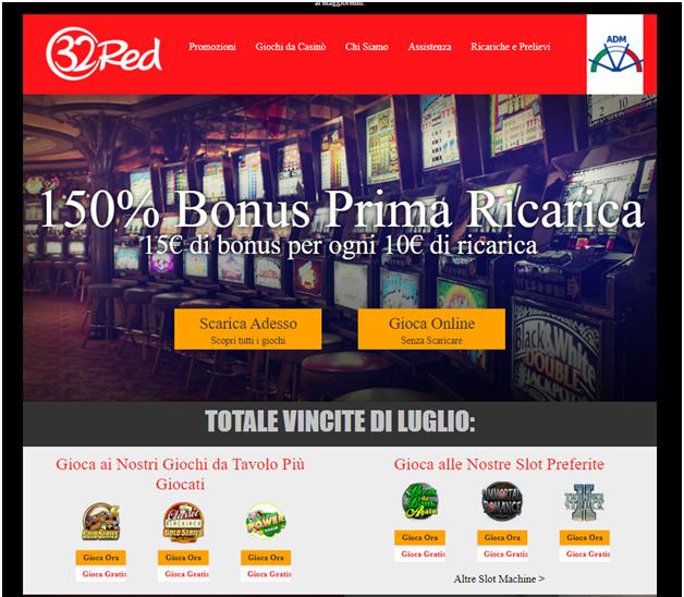 32 red casino- migliori casinò online Europei