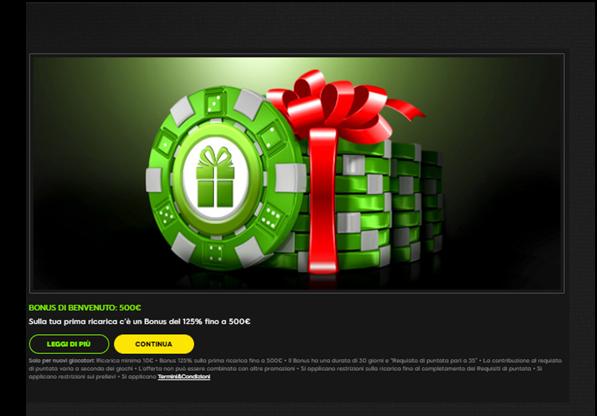 888 casino bonus senza deposito