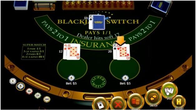 Blackjack Swtich