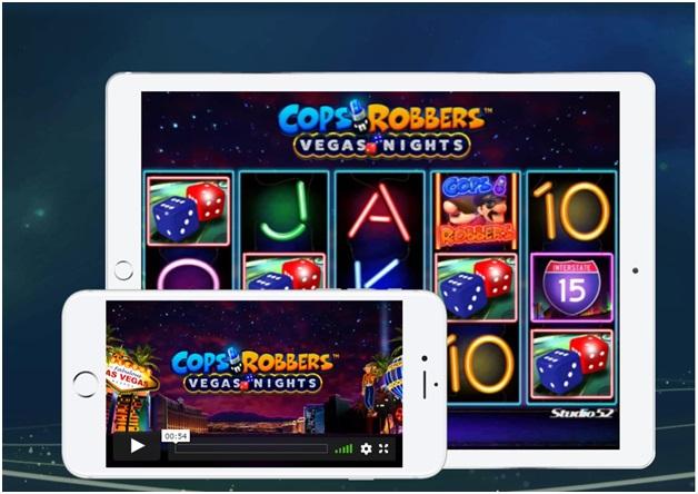 Come si gioca alla slot Cops n Robber Vegas Night