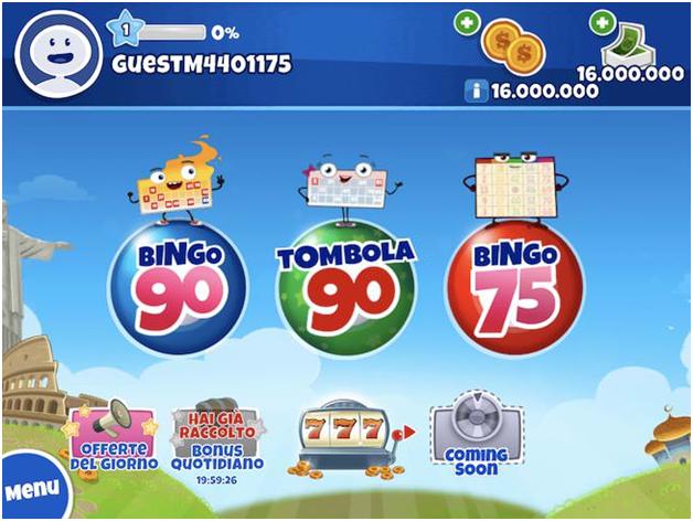 Dove giocare a Tambola Bingo Italia?