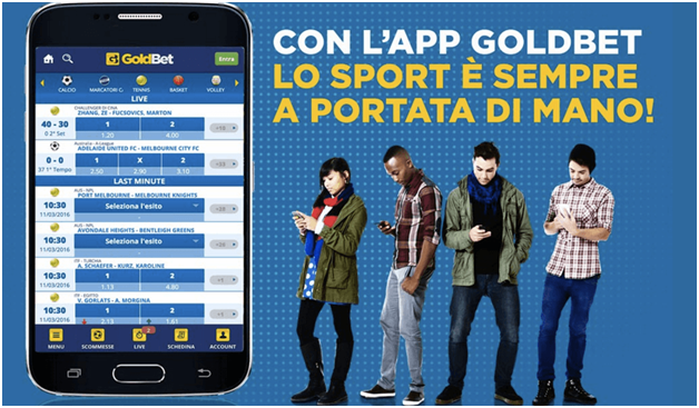 giochi da casino Goldbet mobile