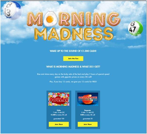 Giochi di Bingo da giocare su Rich Casino con soldi veri