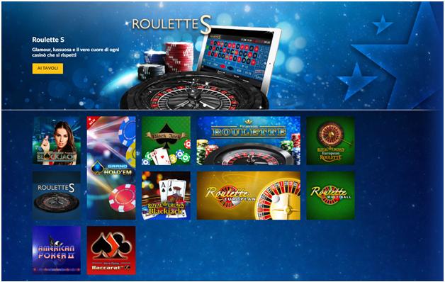 Giochi su StarVegas Casino