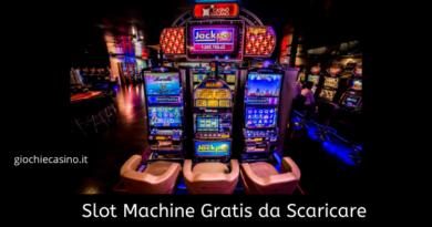 Slot Machine Gratis da Scaricare