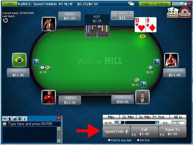 Speed poker italia