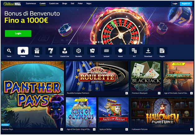 Casinò William Hill