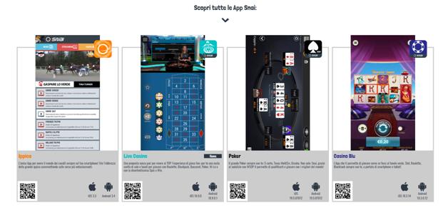 app casino snai