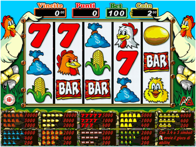 Spin da cortile- fowl play slot