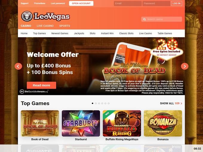 Leo Vegas Casino Italia