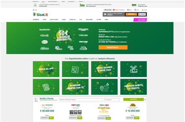 sisal casinò online italia