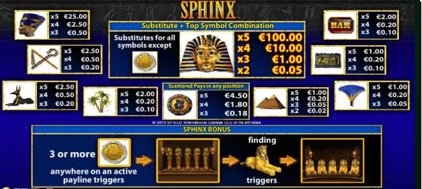 slot machine gratis da bar sphinx pagamenti