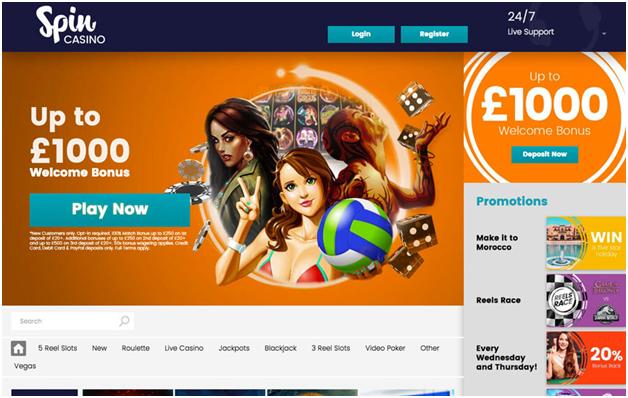 migliori casinò online Europei- Spin Casino