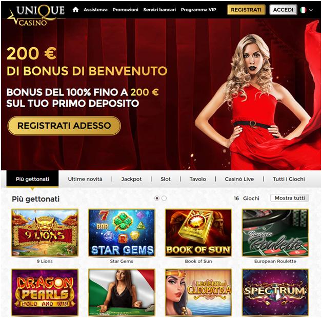 Unique Casino Italia